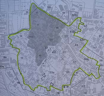 Clicca per ingrandire  la  cartina delle aree interessate dal Bando Biddas 2008