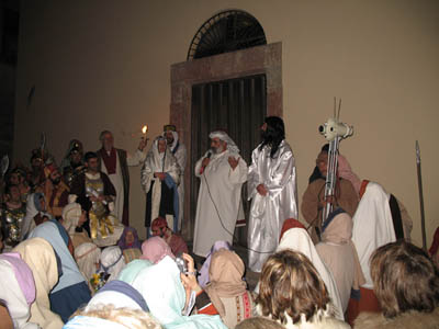 La Sacra Rappresentazione della Passione di Gesù tra le vie di Villaurbana