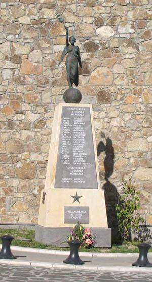 Nuovo Monumento ai Caduti in guerra