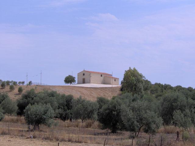 Veduta della chiesa di San Crispo