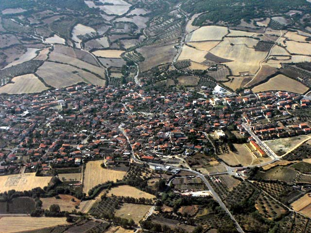 Villaurbana from the sky : Ingresso da Oristano