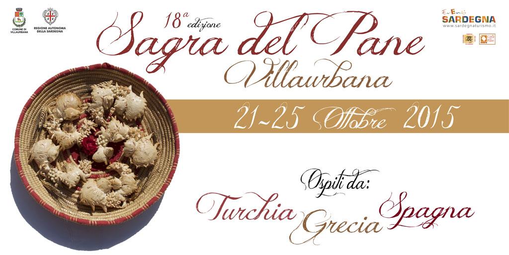 "18esima Sagra del Pane a Villaurbana: ""Su Pani Fattu in Domu"" 21-25 Ottobre 2015"