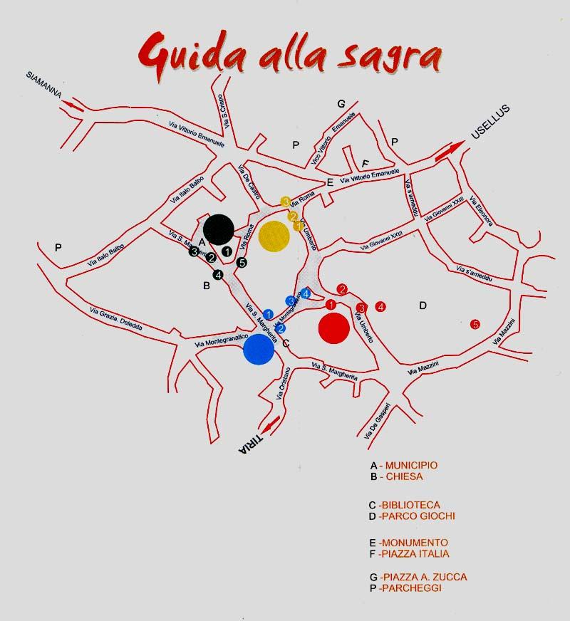 Guida alla Sagra de Su Pani Fattu in Domu edizione 2009