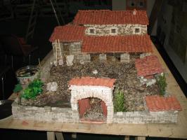 Ricostruzione di una tipica casa Villaurbanese