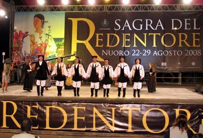 Immagini dalla Sagra del Redentore di Nuoro